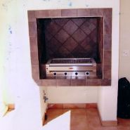 Braai Areas - Victorian Fireplace - Braai designs in Cape Town - Braai area and braai area surrounds designed to meet your specific requirements.  Custom designed braai areas. Indoor braai areas.  Outdoor braai areas.