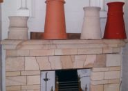 Chimney Pots - Victorian Fireplaces, Refurbishing and Repairing a Victorian fireplace, www.victorianfireplaces.co.za Chimney Pots - Victorian Fireplaces.  Chimney's and chimney pots. Chimney Pots - Victorian Fireplaces.  Chimney's and chimney pots. Fireplaces Cape Town. Chimney pots Cape Town.