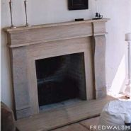 Victorian Fireplaces - The Sandstone Mantelpiece is very fashionable and creates a feeling of majesty and timelessness.  Sandstone Fireplaces.