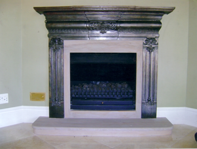 Maintenance. Fireplace Mantels